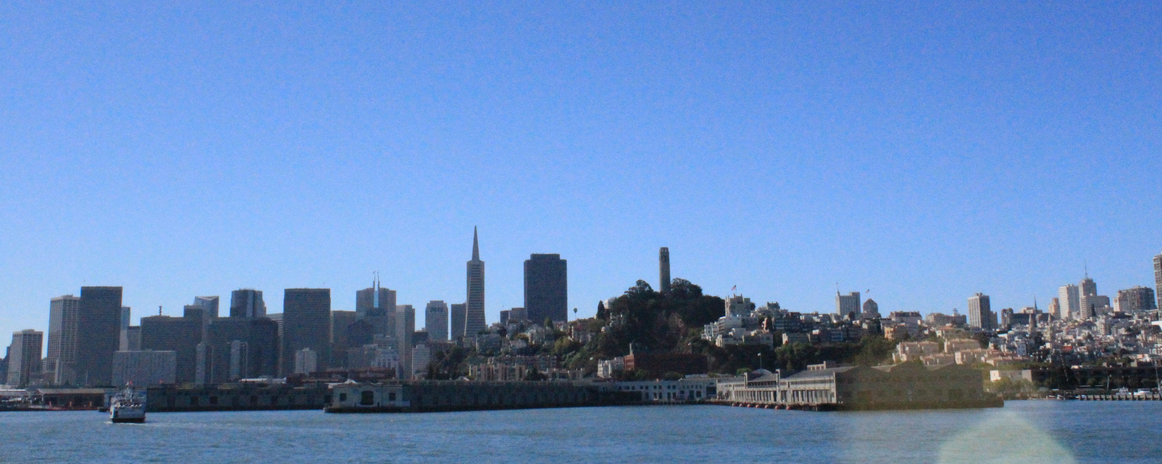 San Francisco - Vista Alcatraz