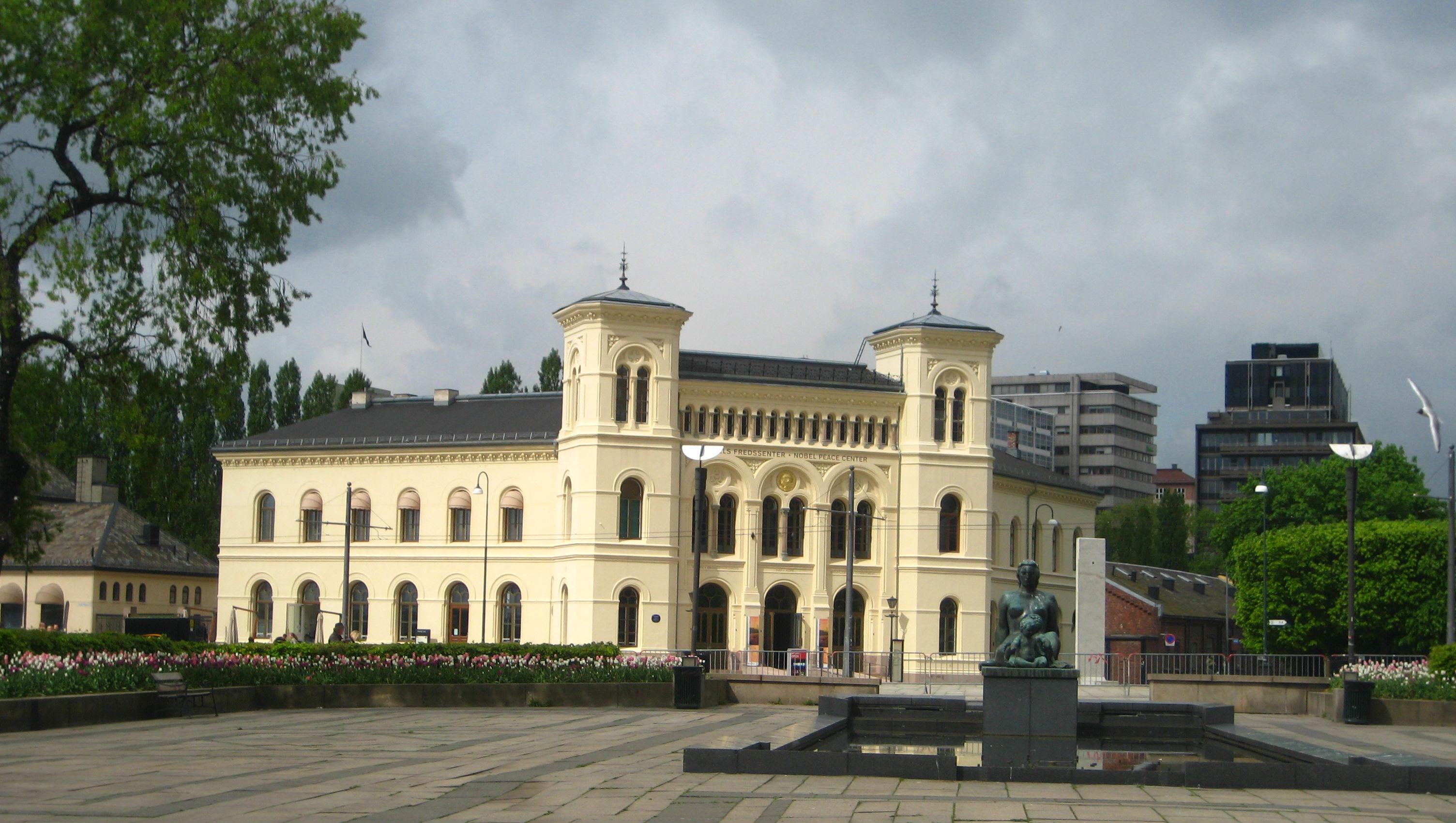 Prédio onde é feita a entrega do Prêmio Nobel