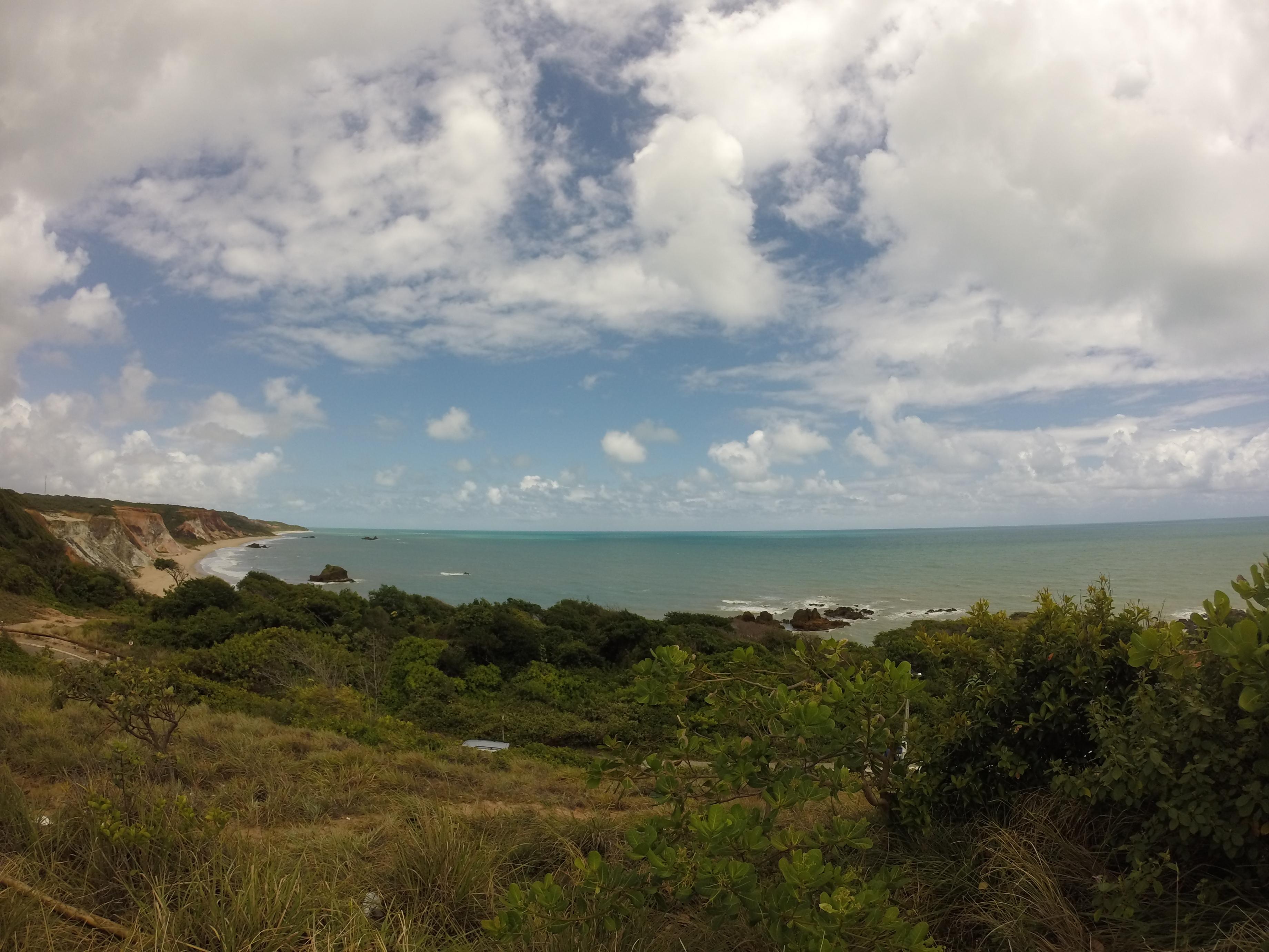 Vista do Mirante próximo a entrada de Tambaba