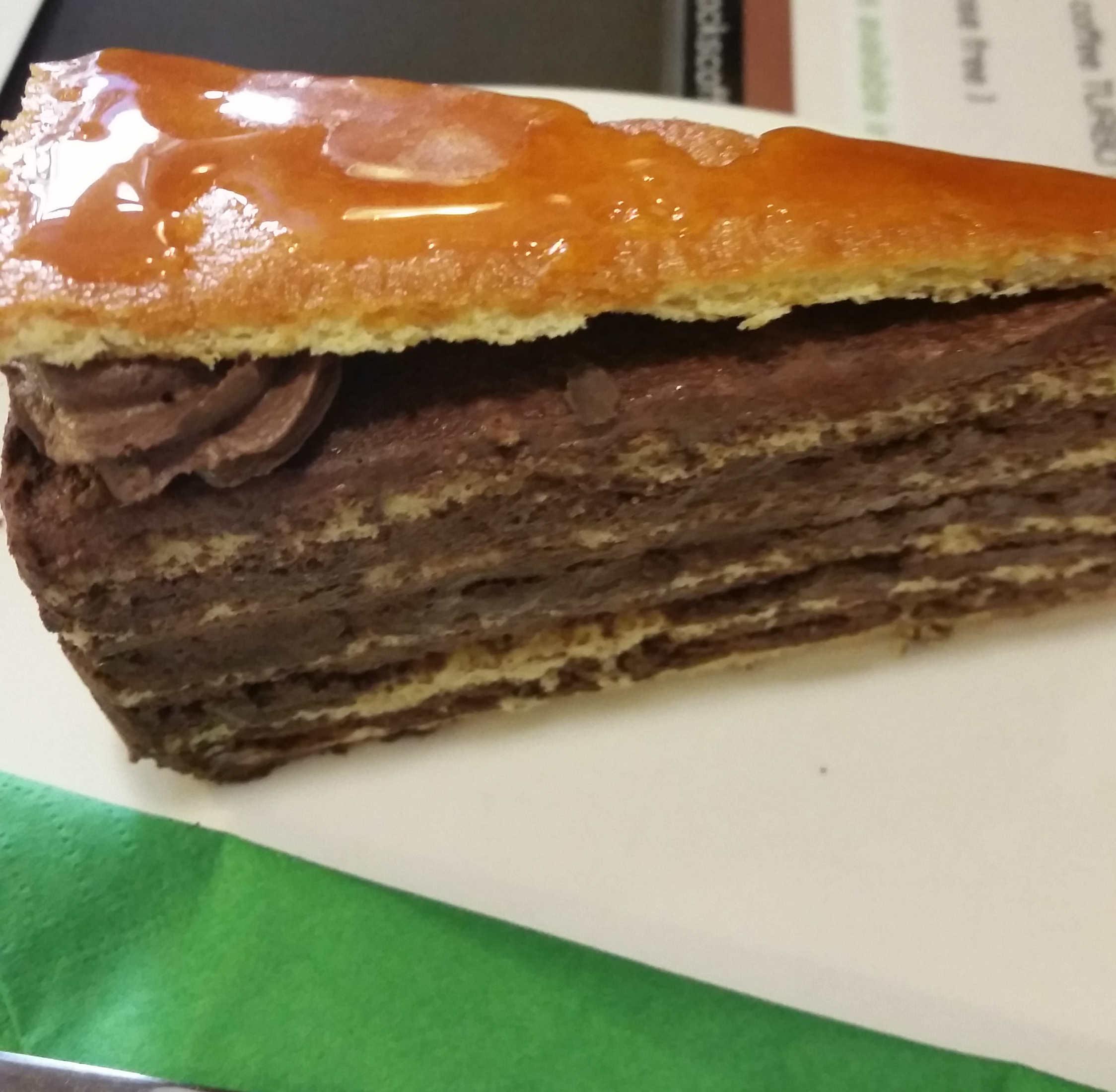 Dobos Cake no Sock´s Coffee