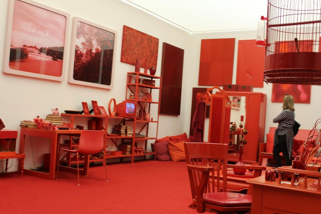 Cildo Meireles, Desvio para o vermelho