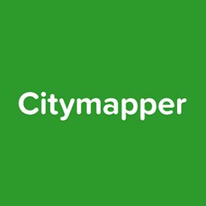 citymapper - dica de aplicativo de viagem