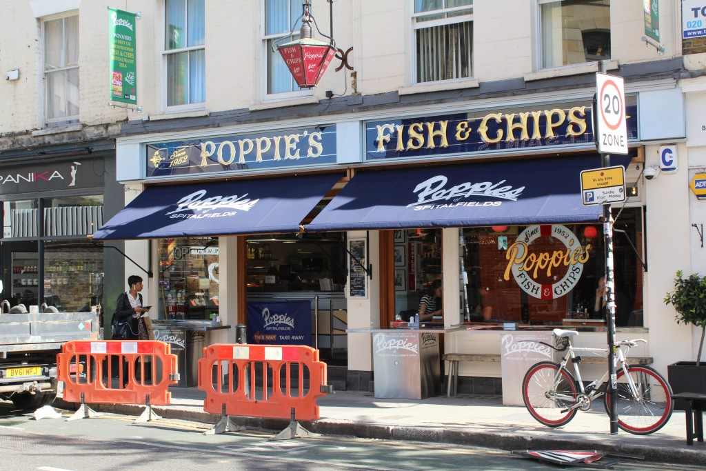 fish an chips em Londres