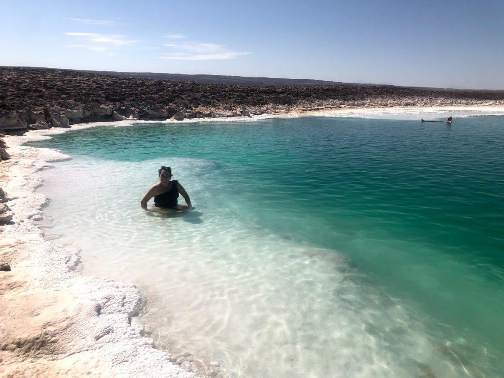 Lagoas escondidas- Deserto do Atacama