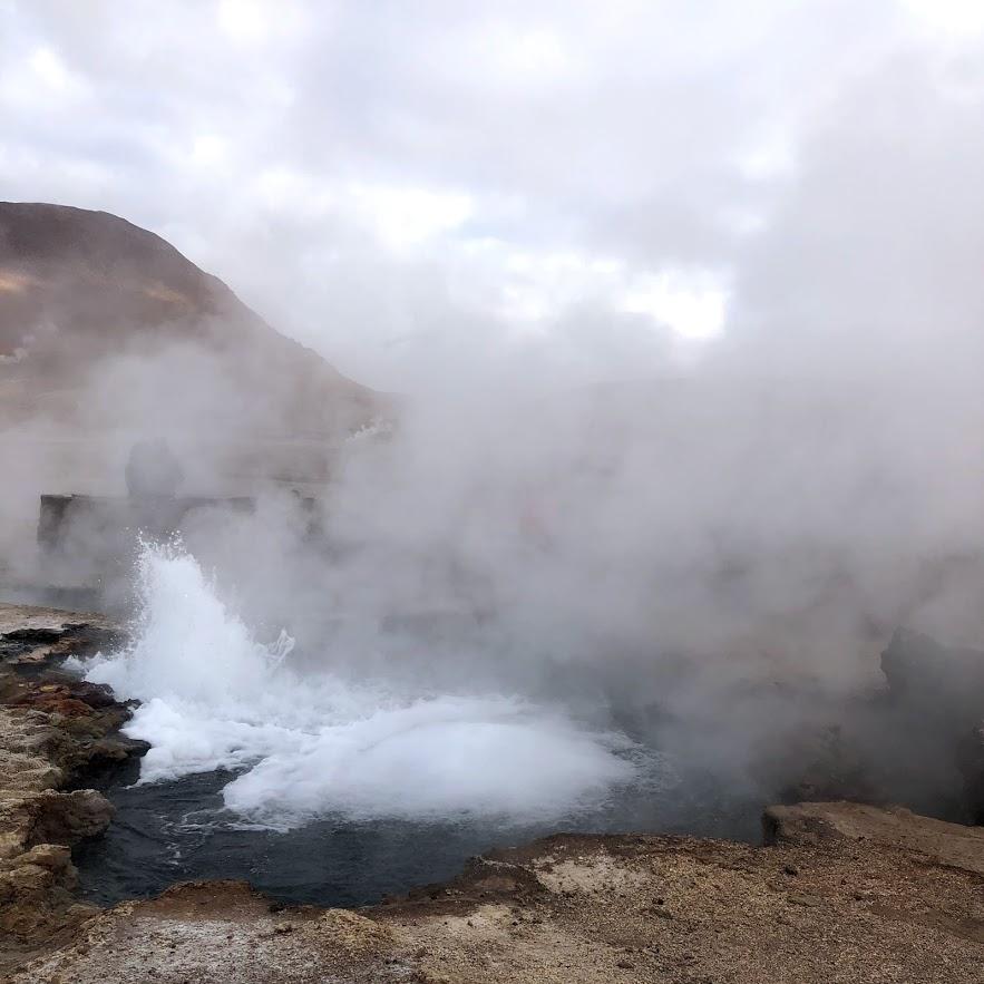 Geyser Tatio - San Pedro de Atacama