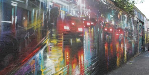 Londres: Walking Tour de Arte de Rua – Shoreditch