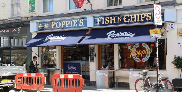 Fish and Chips em Londres