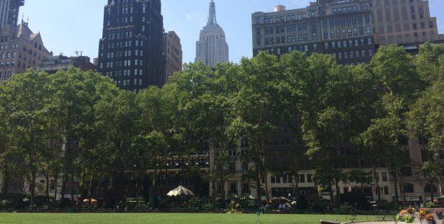 Nova York: Explorando o Bryant Park